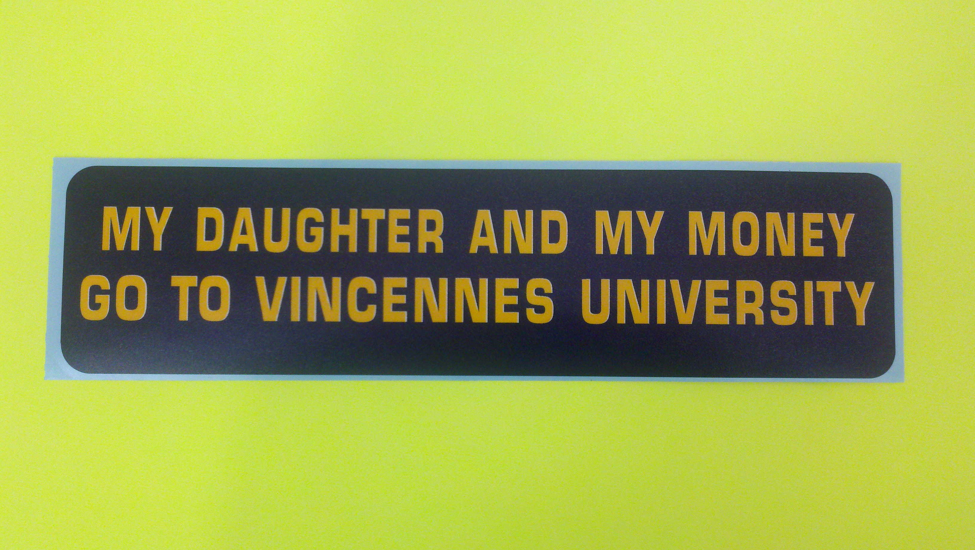 DECAL DAUGHTER AND MONEY