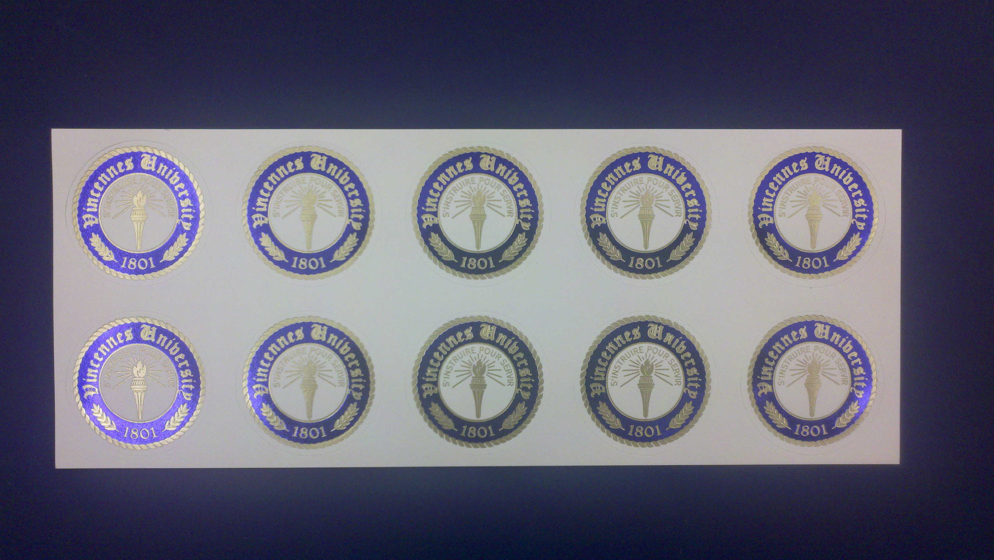 Image For GRAD ENVELOPE SEALS EACH