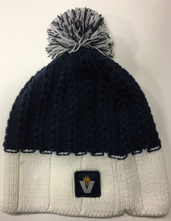 Image For BEANIE WOMEN SCALLOP POM