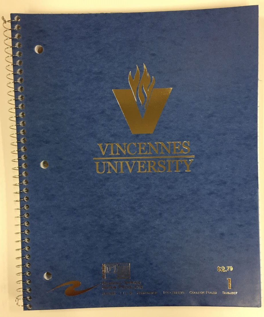 Cover Image For NOTEBOOK VU/VUJC 1 SUBJECT