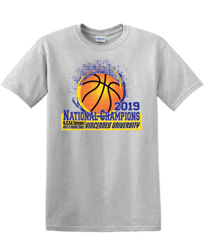 Image For 2019 NJCAA CHAMPS T-SHIRT (S-XL)