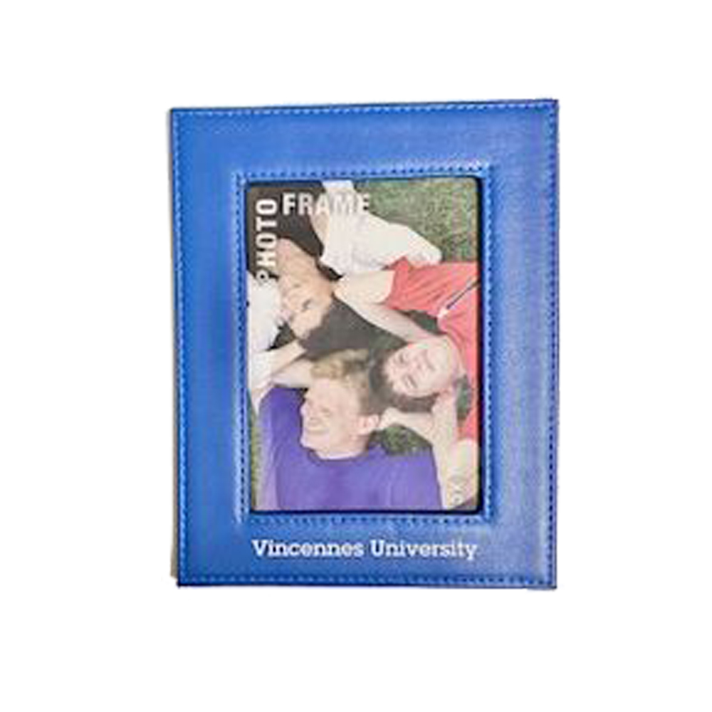 Cover Image For 5X7 VU FRAME BLUE LEATHER