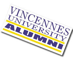 Image For Alumni Window Decal