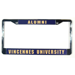 Image For Alumni License Tag